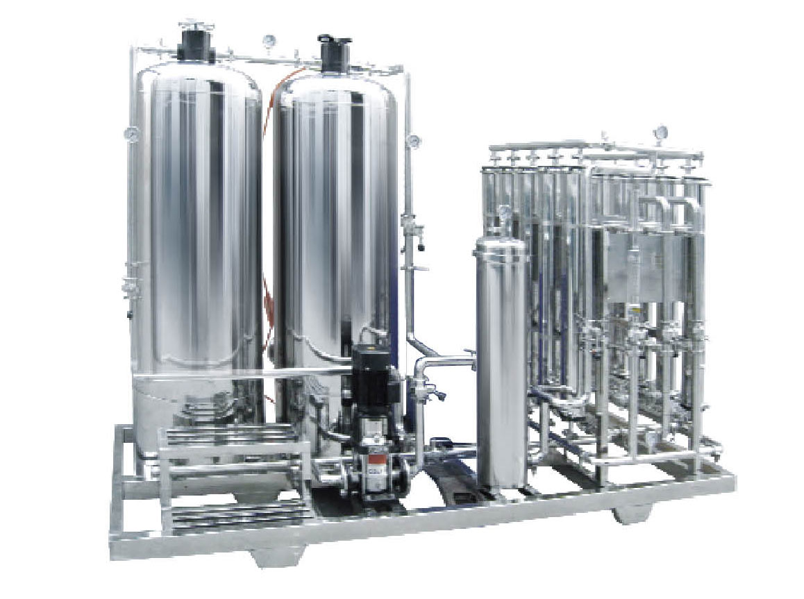Capacity 5m3/h Utrafiltration equipment