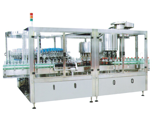glass bottle washing filling capping machine for wine liquor